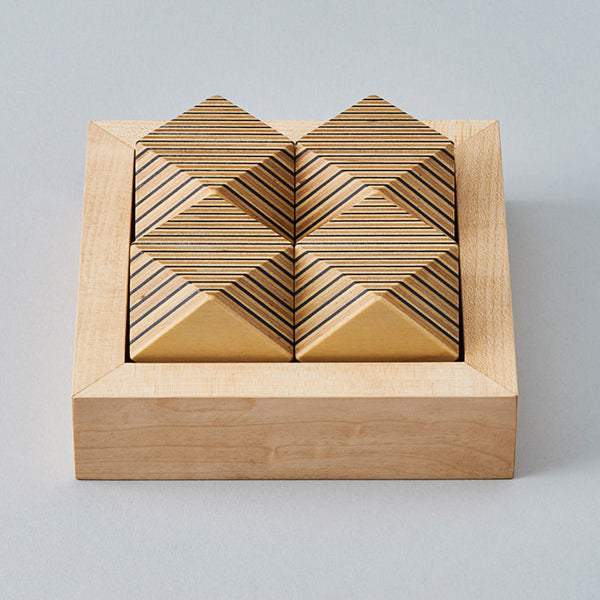 Japanese Paper-Wood Puzzle