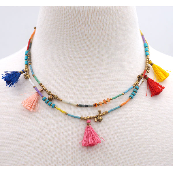 Bohemian Handcrafted Chocker