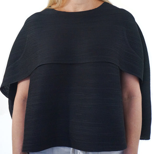 PLEATED SLEEVLESS TOP