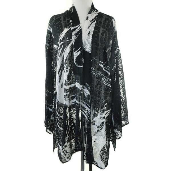 Anne Namba Burnout Duster and Zen Top