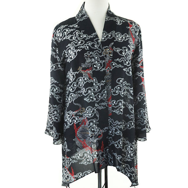 Anne Namba Dragon Print Jacket