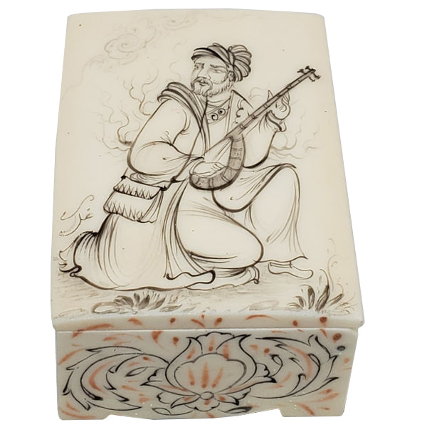 Persian Miniature Box Musician
