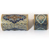 Persian Miniature Boxes with Mosque Pattern