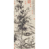 "Scroll ""Orchid and Bamboo"" - Replica"