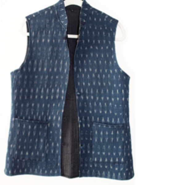 Quilted Ikat Vests