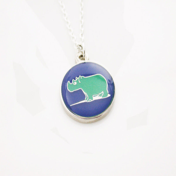 Asian Art Museum Rhino Pendant