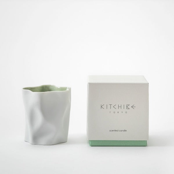 Crinkle Scented Candle - Yuki