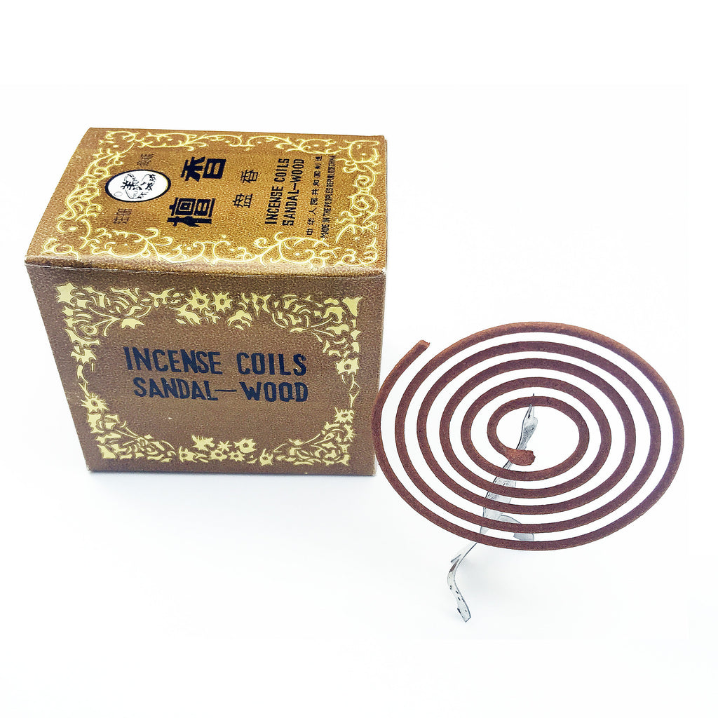 Vintage Sandalwood Coil Incense