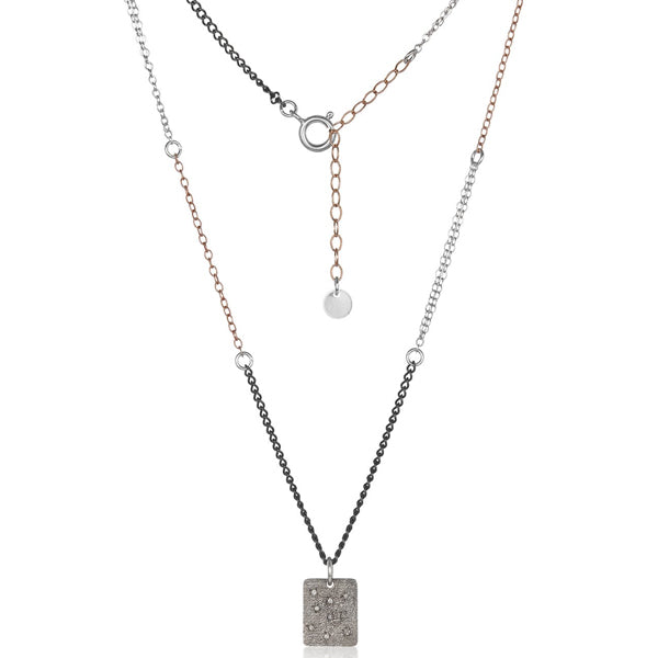 MABEL CHONG Demi Silver Necklace