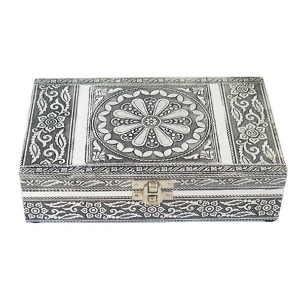 Large Metal Embossed Box