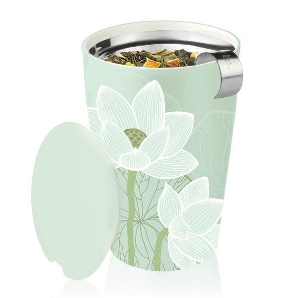 LOTUS COLLECTION MUG WITH INFUSER
