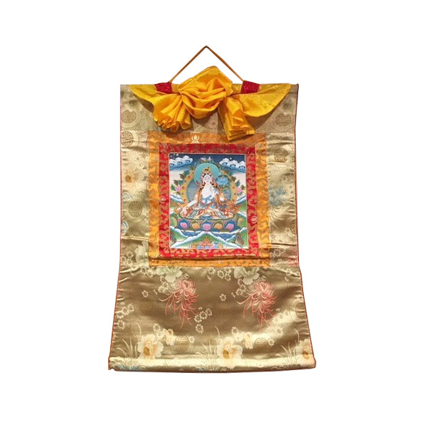 Thangka White Tara