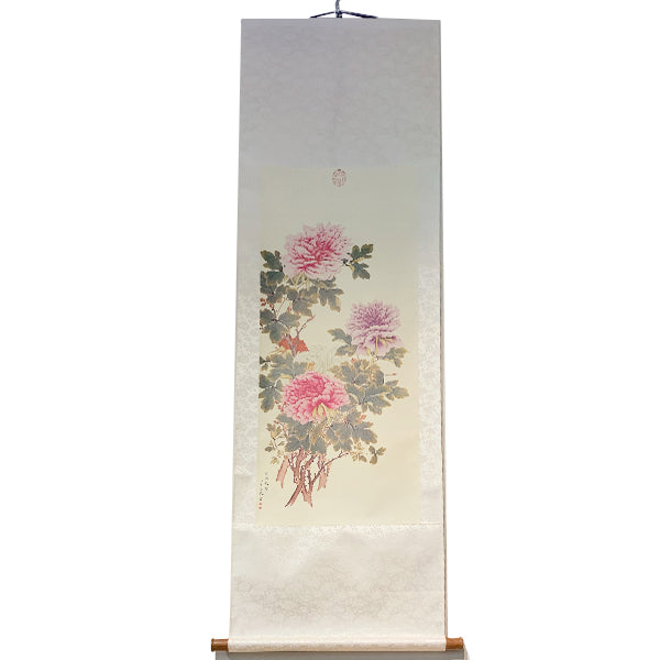 "Scroll ""Peonies"" - Replica"