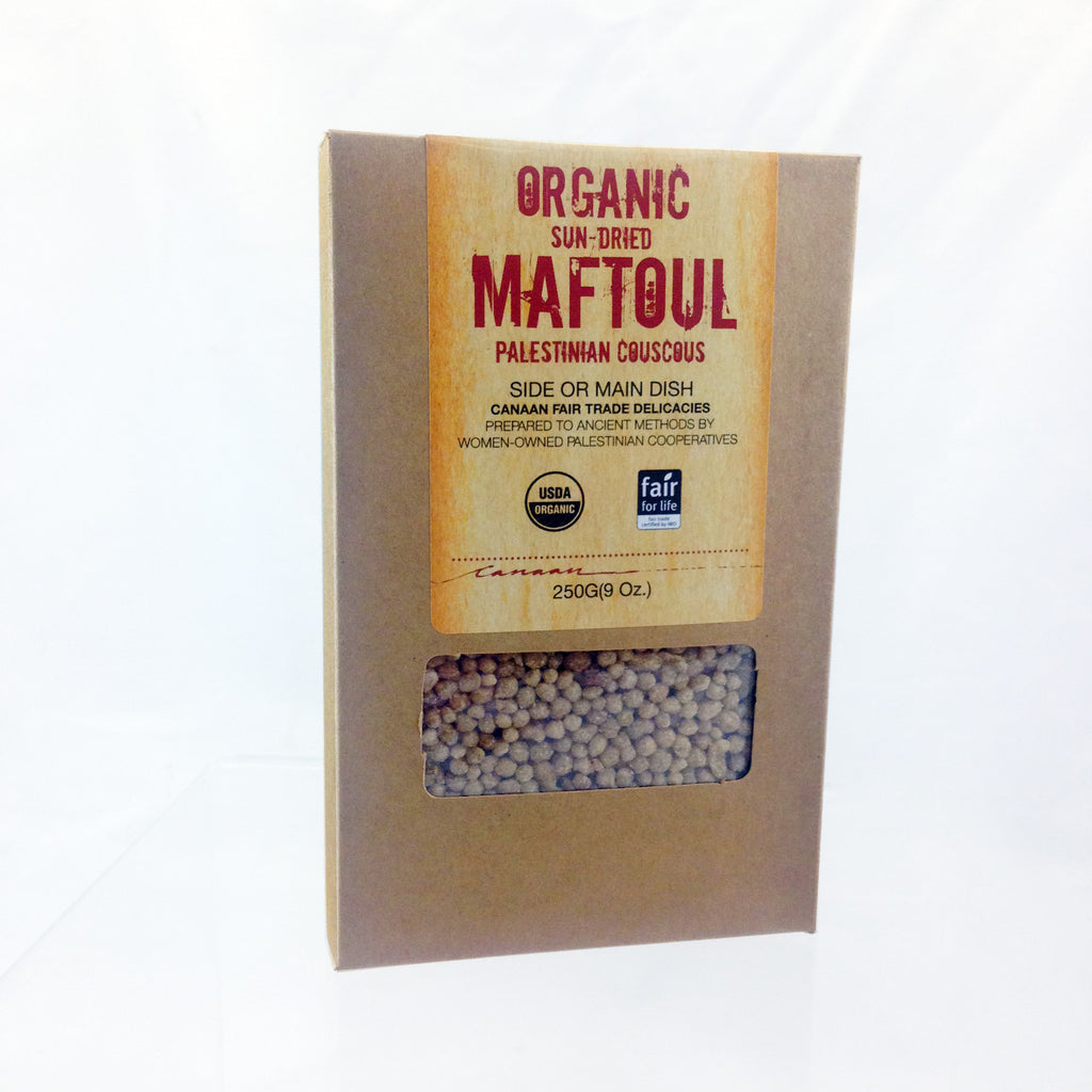 Organic Hand Rolled Maftoul (Couscous)
