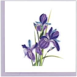 Iris Quilled Card