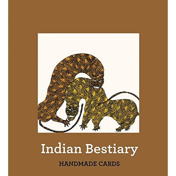 Indian Bestiary Handmade Notecards