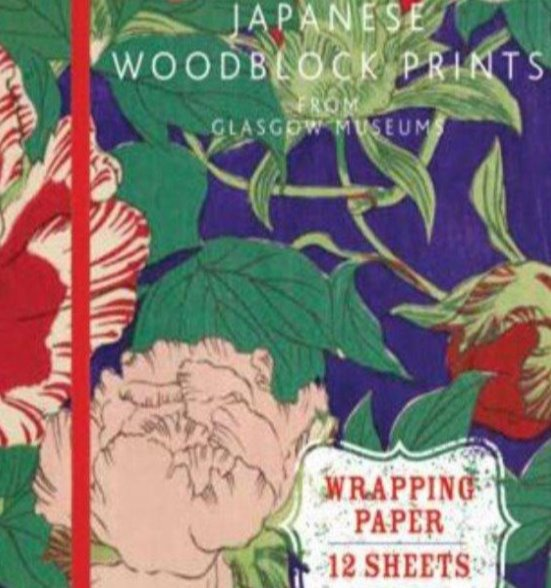 Japanese Woodblock Prints Wrapping Paper
