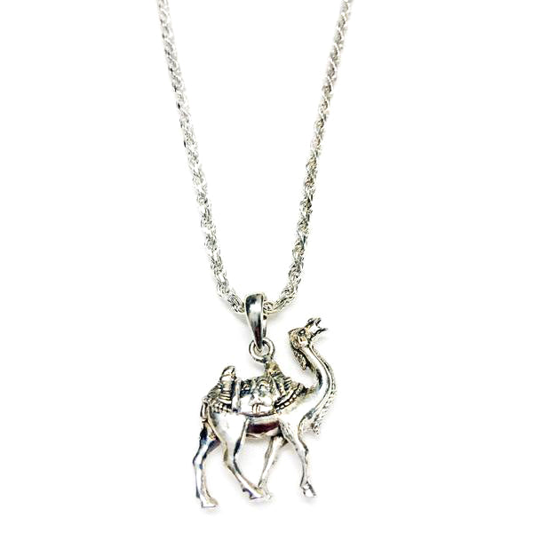 Asian Art Museum Silver Camel Pendant