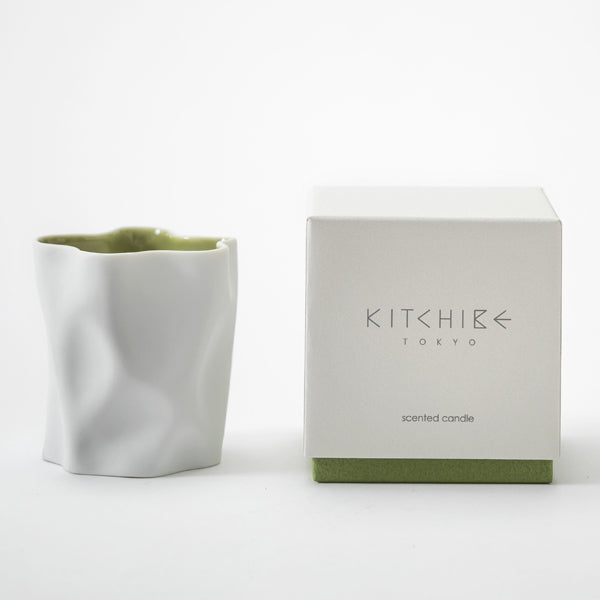 Crinkle Scented Candle - Matcha
