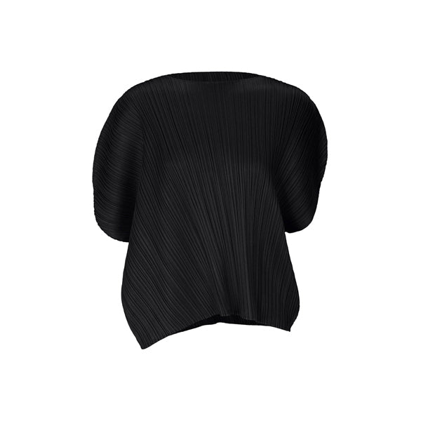 Issey Miyake Curved Pleats Top