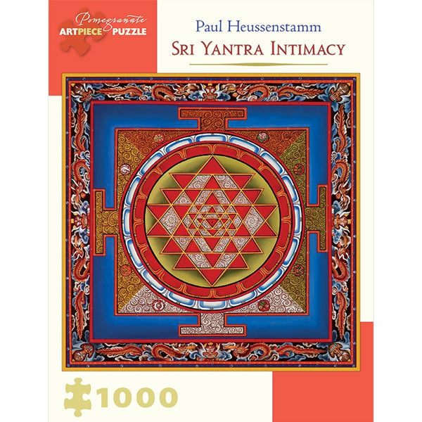 Paul Heussenstamm: Sri Yantra Intimacy 1,000 - piece Jigsaw Puzzle