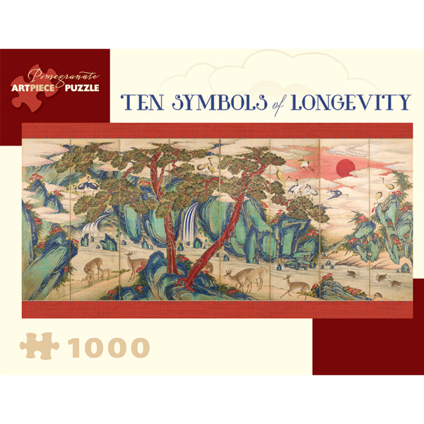Ten Symbols of Longevity Puzzle