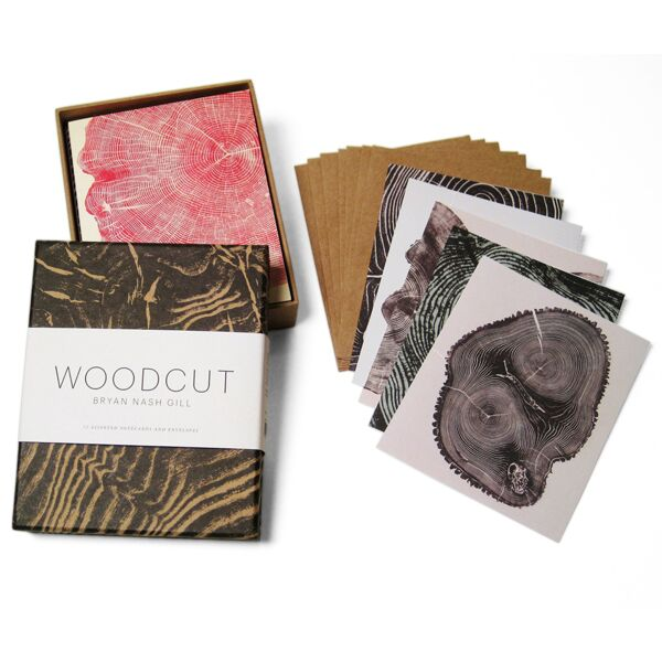 Woodcut Note Cards