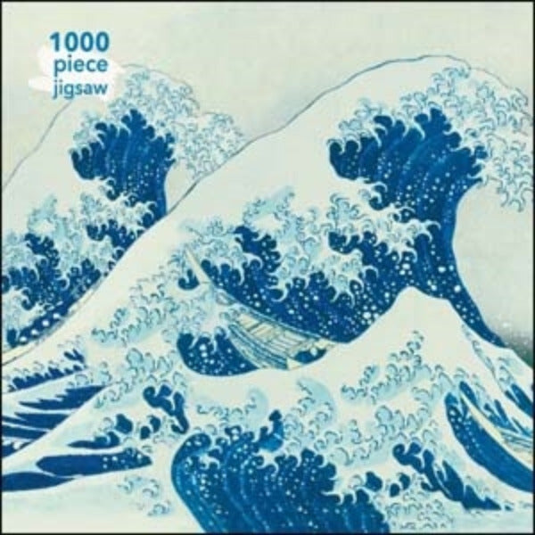 Hokusai: The Great Wave 1,000 pc Puzzle