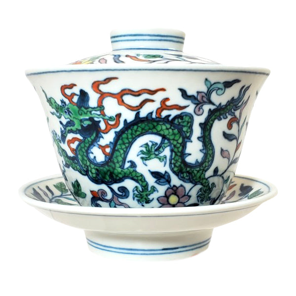 Gaiwan with Dragon