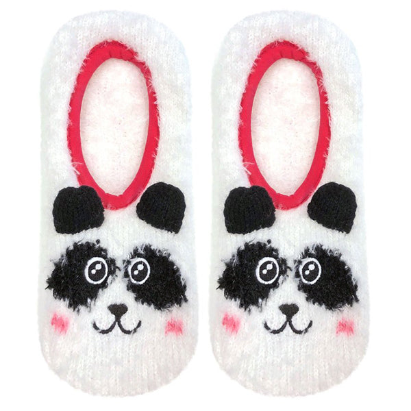 Fuzzy Animal Slipper Socks