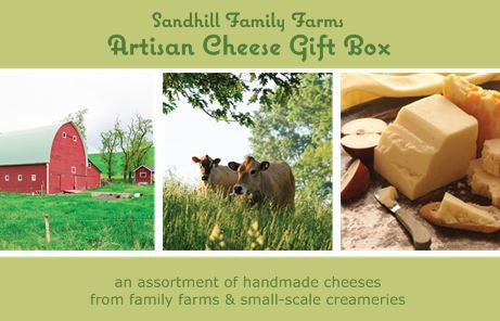 Artisan Cheese Gift Box (ships 12/12)