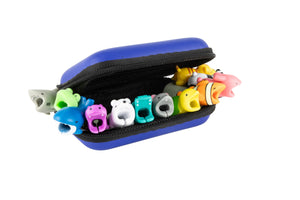 Cable Buddies 13 pcs Variety Set with Premium Case