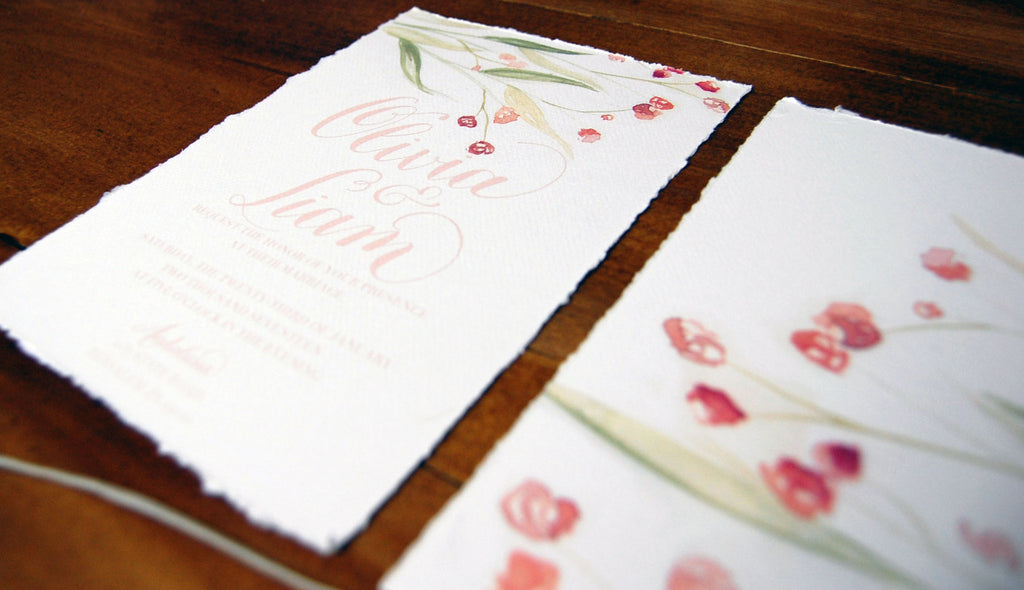 Bespoke Invitations or picking out a Pre-made Design?