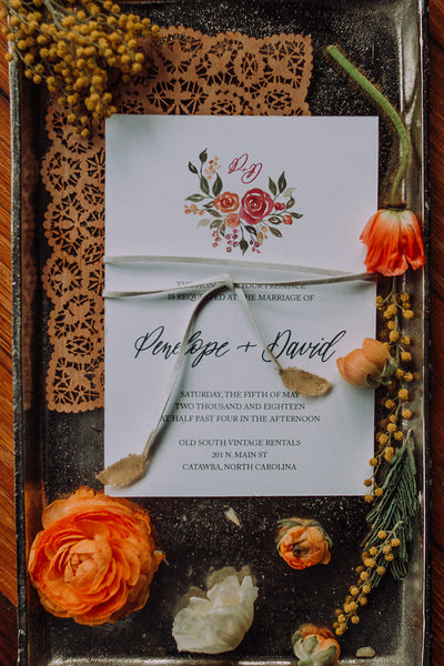Penelope Invitation