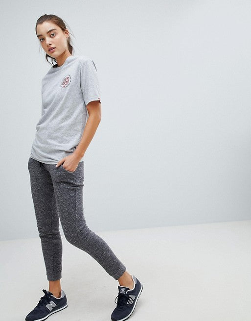 New Balance T-Shirt In Grey With '86 Back Print