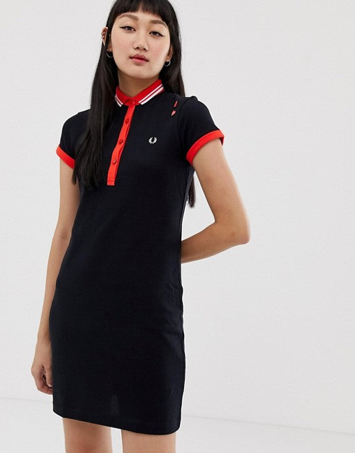 99eb56ae Fred Perry amy winehouse foundation polo dress – The Full 24