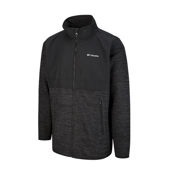 Men's Birch Wood II Full Zip Jacket - Black