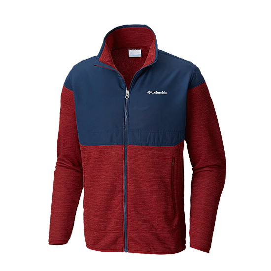 Men's Birch Woods II Full Zip Jacket - Red