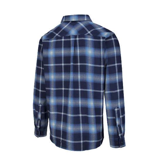 Men's Silver Ridge Flannel Shirt - Blue