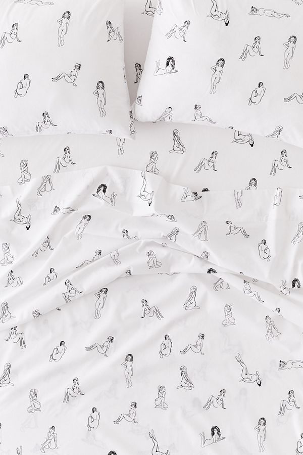 Bathing Beauties Sheet Set