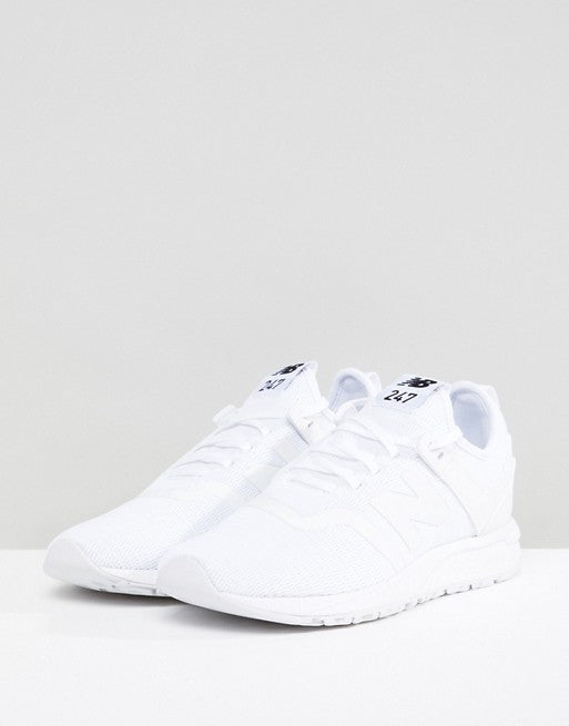 6f00a463fb3d4 New Balance 247 All White Trainers – The Full 24