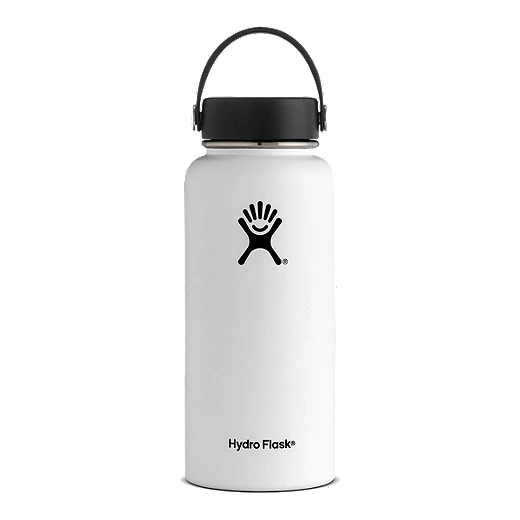 Hydro Flask 32 oz Wide Mouth Water Bottle - White