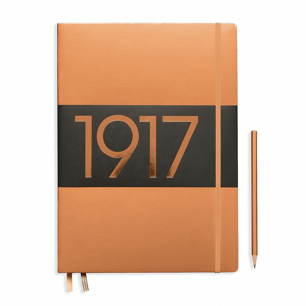 1917 METALLIC EDITION NOTEBOOKS MASTER SLIM