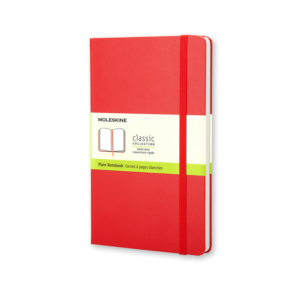 CLASSIC NOTEBOOK - RED