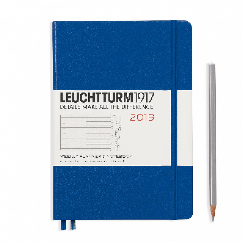 WEEKLY PLANNER & NOTEBOOK 2019, ENGLISH