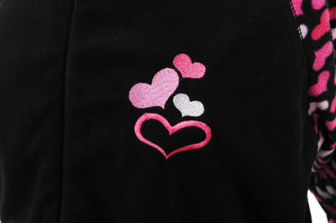 Hearts Footie Pajama