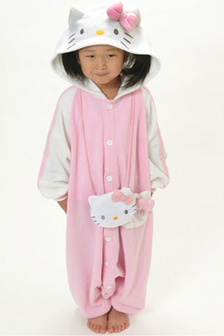 Hello Kitty Kids Kigurumi Onesie