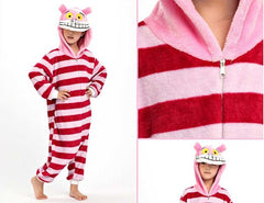 Kids Cheshire Cat Kigurumi Onesie