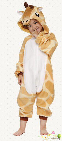 Giraffe Kids Kigurumi Animal Onesie