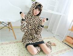 Leopard Bear Kigurumi Dress